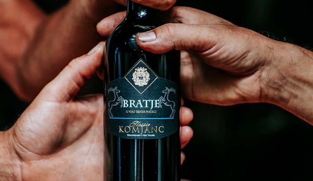 Bratje Komjanc Alessio, il vino rende fratelli