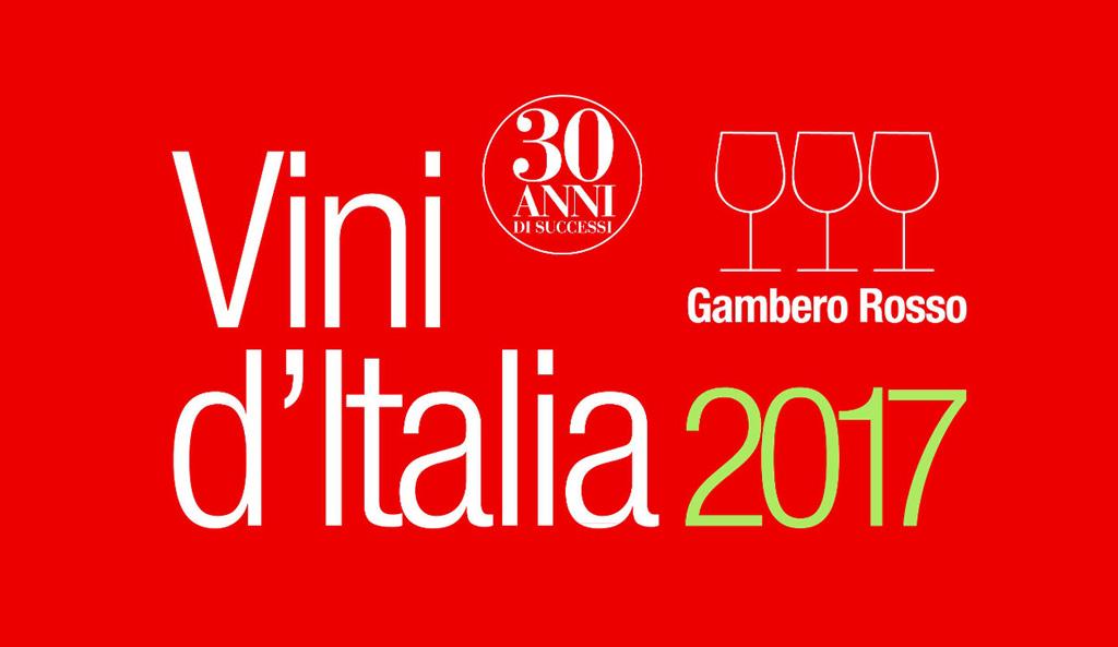 GAMBERO ROSSO Vini d'Italia 2017 Il nostro Malvasia 2015 vince l'oscar qualità/prezzo