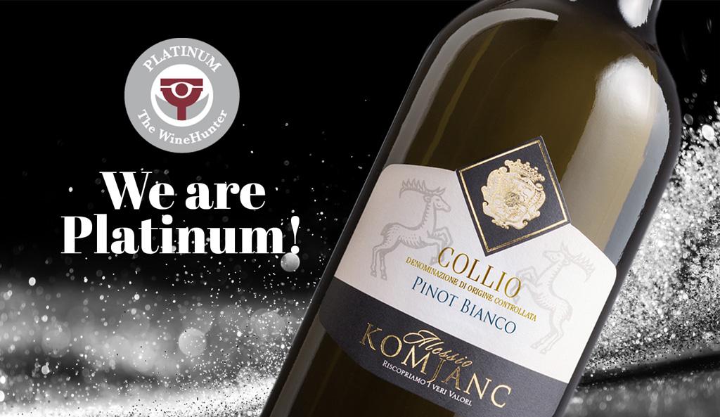Pinot Bianco Collio Premio WineHunter Award Platinum