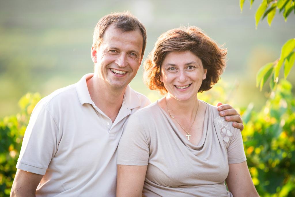 Rafaella e Roberto Komjanc